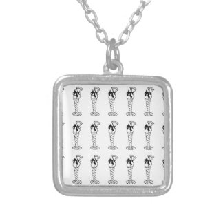 knickerbocker silver plated necklace