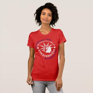 Knickerbocker White and Blue Logo T-Shirt