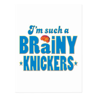 Knickers Brainy, Such A Post Cards