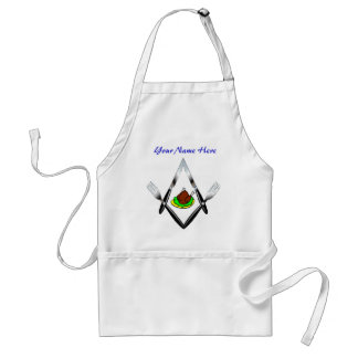Knife and Fork Crew #1 w/Custom Name Adult Apron
