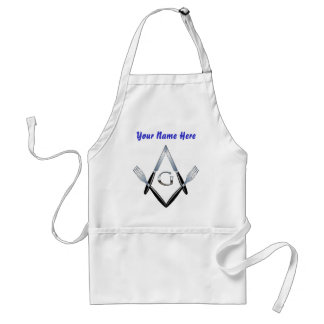Knife and Fork Crew #2 w/Custom Name Adult Apron