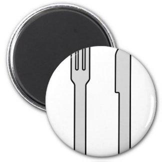 Knife and Fork Magnet