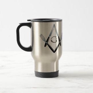 Knife and Fork Mug with Important Masonic Dates