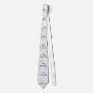 Knife Collectors Sharp Neck Tie