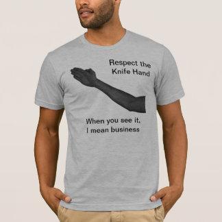 Knife Hand T-Shirt