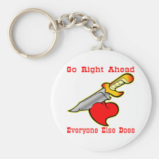 Knife In The Heart  #0022 Keychain