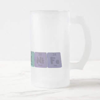 Knife-K-Ni-Fe-Potassium-Nickel-Iron.png Frosted Glass Beer Mug