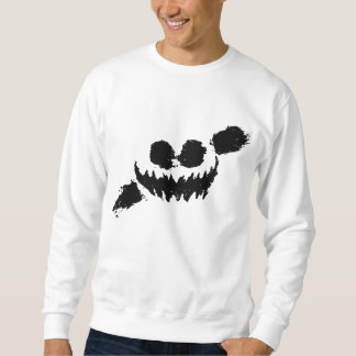 Knife party sweetshirt white/black pullover sweatshirts