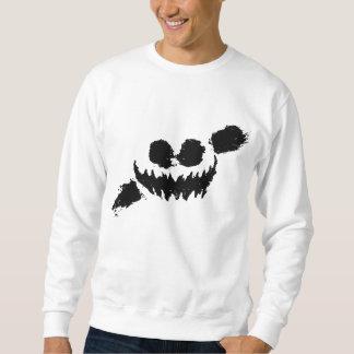 Knife party sweetshirt white/black sweatshirt