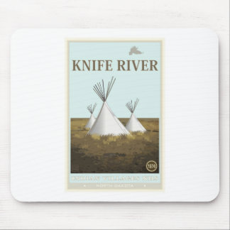 Knife River Indian Villages National Historic Site Mousepads
