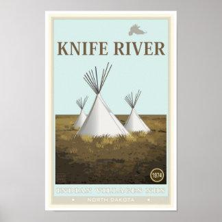 Knife River Indian Villages National Historic Site Poster
