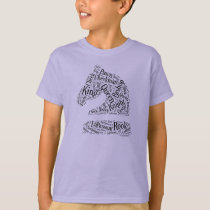 Knigh's Head, Kid's Youth t-shirt