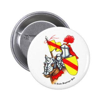 Knight 2 Inch Round Button