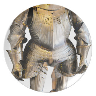 knight #2 plate