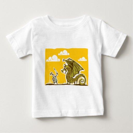 Knight and Dragon Tee Shirts