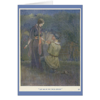 Knight and Fair Lady, Card