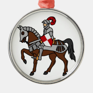 Knight and his Horse Christmas Tree Ornament