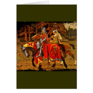Knight and Maiden Chivalry Card