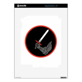 Knight Arm Decal For iPad 2