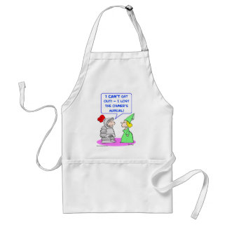 knight armor owner's manual adult apron