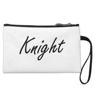 Knight Artistic Job Design Wristlet Purse