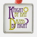 Knight by Day Christmas Ornament