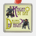 Knight by Day Ornament