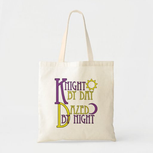 Knight by Day Tote Bag