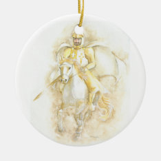 Knight Ceramic Ornament at Zazzle