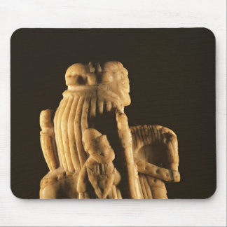 Knight chess piece mouse pad