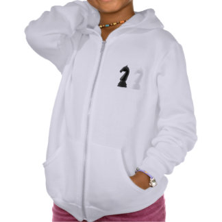 Knight Chess Pieces Girls Hoodie