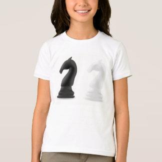 Knight Chess Pieces Girls T-Shirt