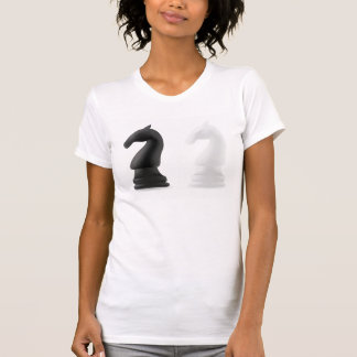 Knight Chess Pieces Womens T-Shirt
