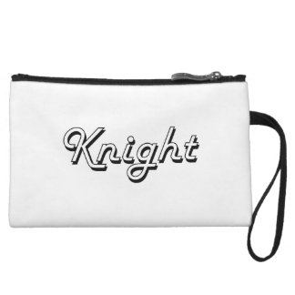 Knight Classic Job Design Wristlet Purse