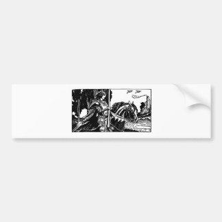 knight-clip-art-31 bumper sticker
