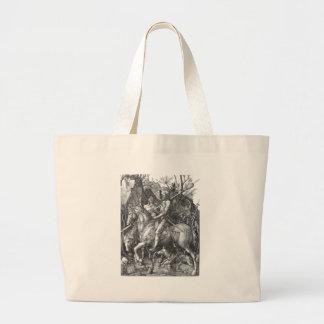 knight-clip-art-9 bolsa lienzo