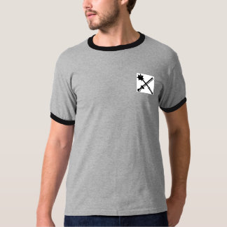 Knight Crossed Mace and Sword Shirt