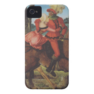 Knight, Death and girl by Hans Baldung iPhone 4 Covers