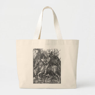 Knight, Death and the Devil, 1513 (engraving) Large Tote Bag