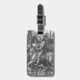 Knight, Death and the Devil, 1513 (engraving) Luggage Tag