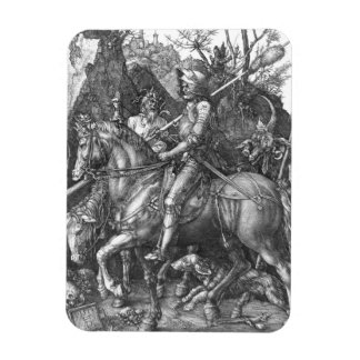 Knight, Death and the Devil, 1513 (engraving) Magnet
