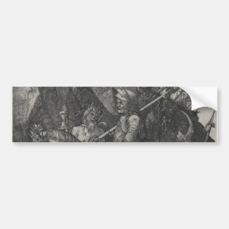 Knight, Death and the Devil by Albrecht Durer Bumper Sticker