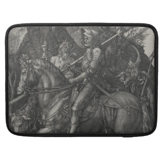 Knight, Death and the Devil by Albrecht Durer MacBook Pro Sleeves