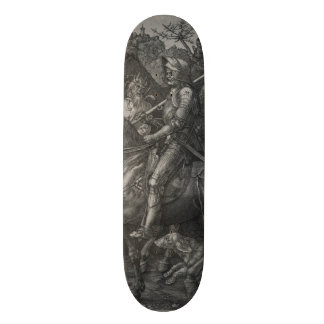 Knight, Death and the Devil by Albrecht Durer Skateboard Deck