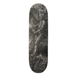 Knight, Death and the Devil by Albrecht Durer Skateboard Deck