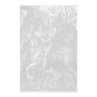 Knight, Death and the Devil by Albrecht Durer Stationery Paper