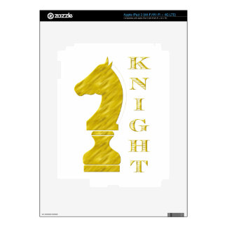 Knight Decal For iPad 3