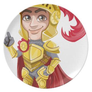 knight dinner plate