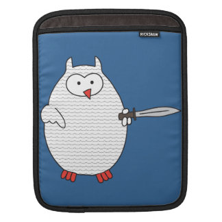 Knight Dispute Hoot iPad Sleeves