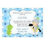Knight Dragon Baby Shower Invitation 13 Cm X 18 Cm Invitation Card